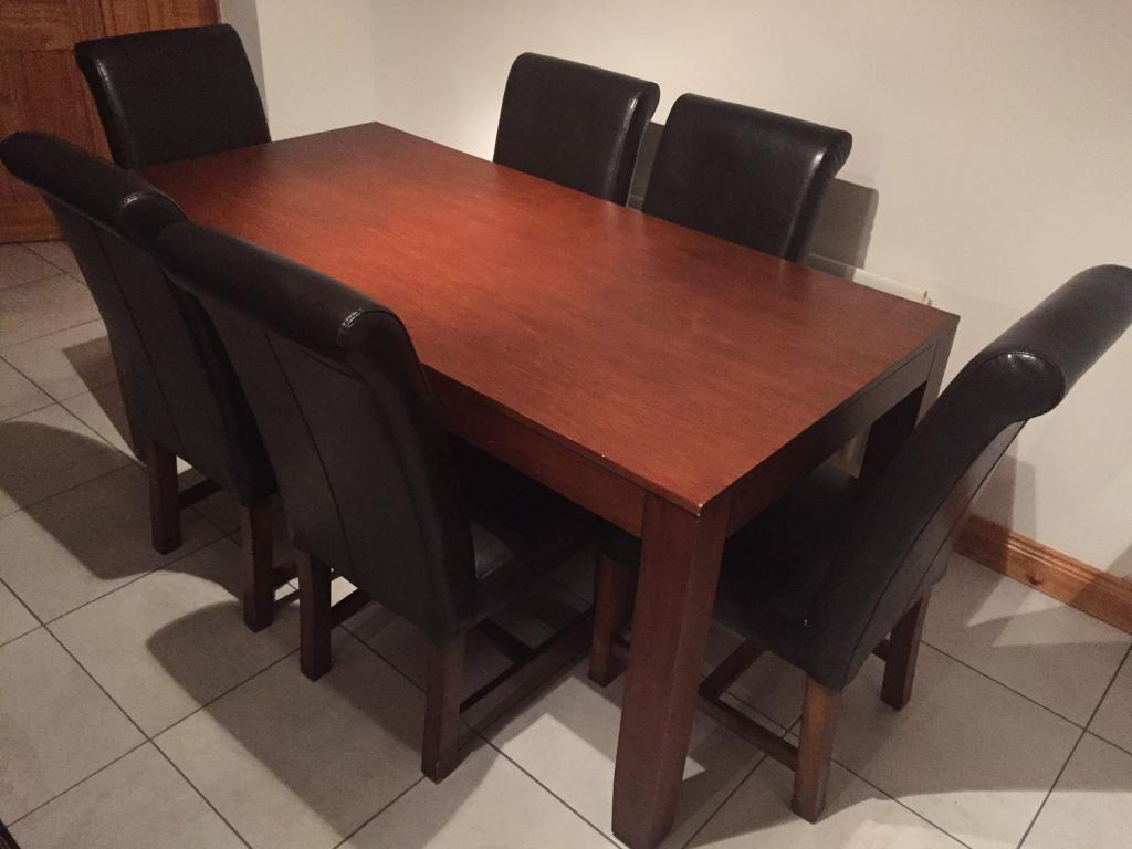 Kitchen table and chairs for sale - SOLD