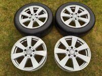 """16"""" Mercedes alloy wheels"""