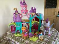 Vtech toot toot castle and unicorn