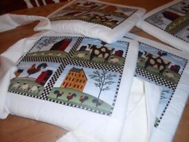 Set of Chair Cushions Never used