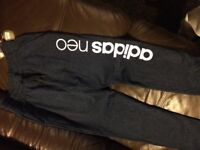 Adidas neo trackies size small