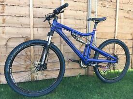 Bergamont full suspension Enduro/Downhill bike, LIKE NEW, HIGH SPEC