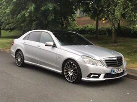 Mercedes E Class 3.0 E350 CDI Auto Sport AMG Blue Efficiency 4dr Saloon Diesel - P/X Welcome