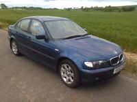 BREAKING BMW 318i E46 3 series facelift saloon Automatic in Blue for Spares Parts