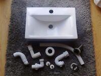 Bathroom or cloakroom sink