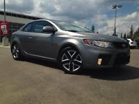 2010 Kia FORTE KOUP SX - Sunroof, Alloys, Leather Heated Seats,