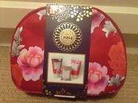 M&S Floral Collection Purse with bath & body treats