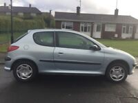 Peugeot 206 lx 1.4 automatic 2003 with 12 months mot