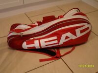 HEAD raquet bag in first class condition