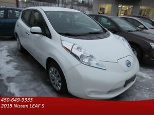 2015 Nissan LEAF S SUBVENTION DISPONIBLE