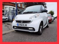 (3900 Miles) --- 2014 Smart Fortwo 1.0 Auto MHD 21 Softouch --- Very Low Mileage - Smart Car For Two