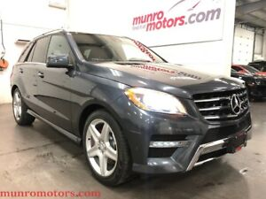 2014 Mercedes-Benz M-Class ML350 BlueTEC 4MATIC Premium AMG Spor