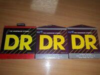 Pack of 3 DR Handmade strings