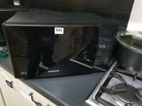 Samsung microwave grill and oven black ex-display me731k