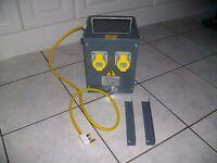 110v 2 outlet transformer