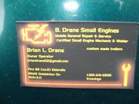 Briggs & Stratton 10 HP Lawn Tractor Engine
