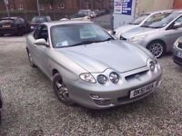 2001 HYUNDAI COUPE SE 2.0 PETROL 3 DOOR IN SILVER *PX WELCOME* MOT TILL APRIL 2018 £545