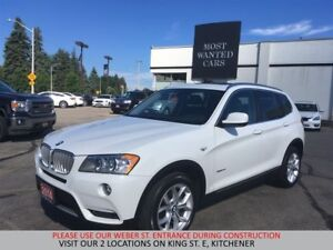 2014 BMW X3 xDrive28i | PANORAMIC | HUD | HEATED WHEEL