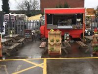 food trailer at Car Park Wickes to sell .