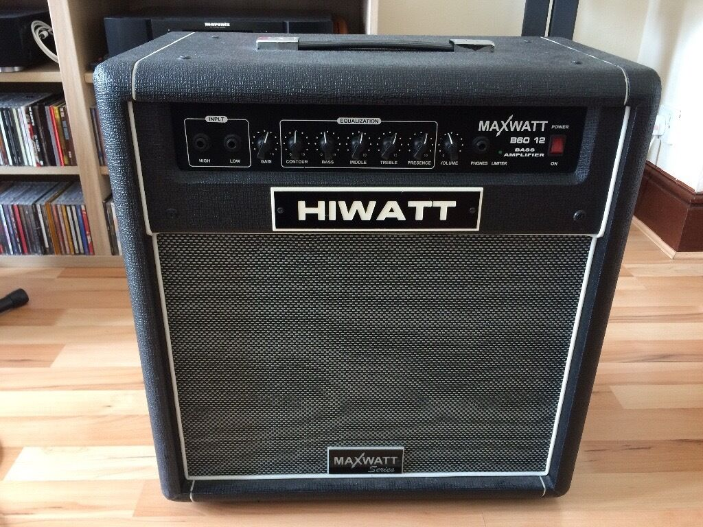 hiwatt maxwatt b60 12 speaker combo bass amplifier in southsea hampshire gumtree. Black Bedroom Furniture Sets. Home Design Ideas