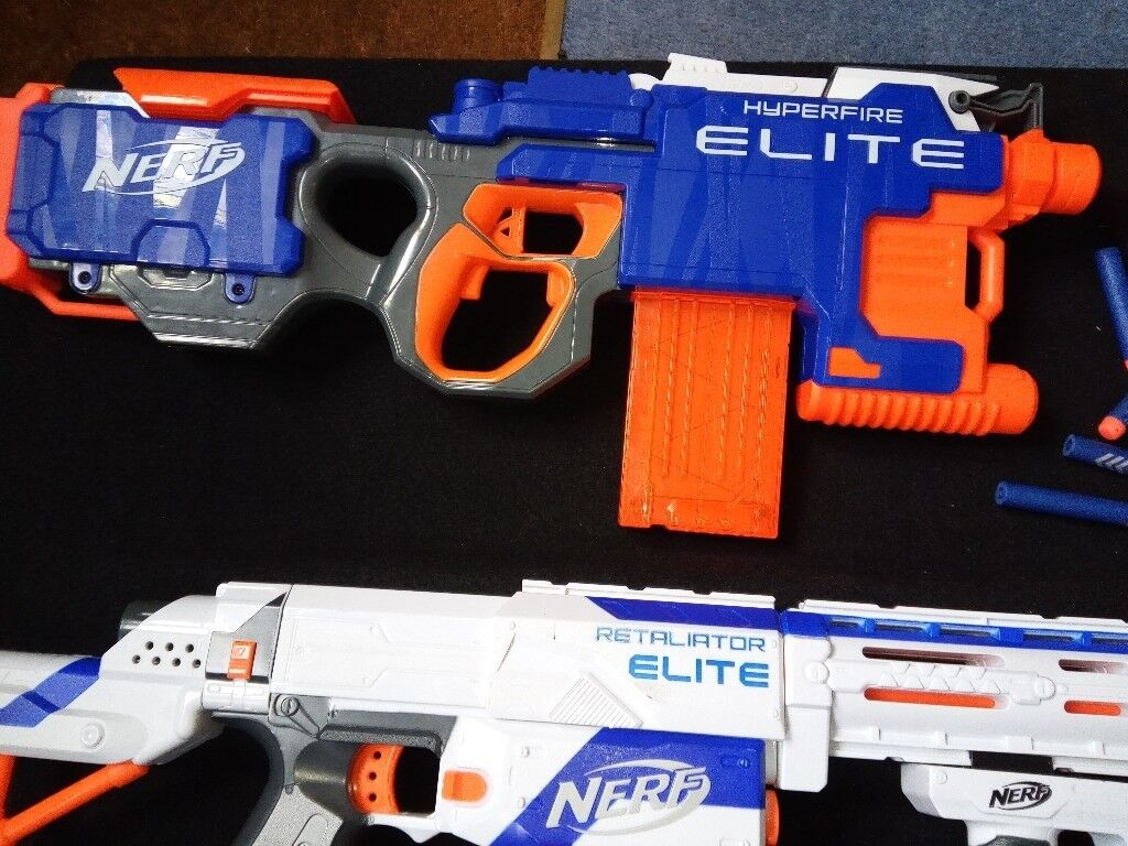 Toy Guns TWO Nerf gun Elite & Nerf Retaliator