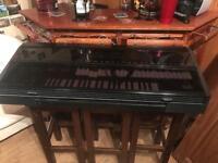 Technics organ midi keyboard