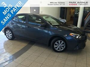 2015 Toyota Corolla **RESERVER**BLUETOOTH, USB, CAMERA RECUL, SI