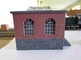 Model railway - Ratio 508 Pump house/boiler house (00 gauge). Boxed. Unmade.
