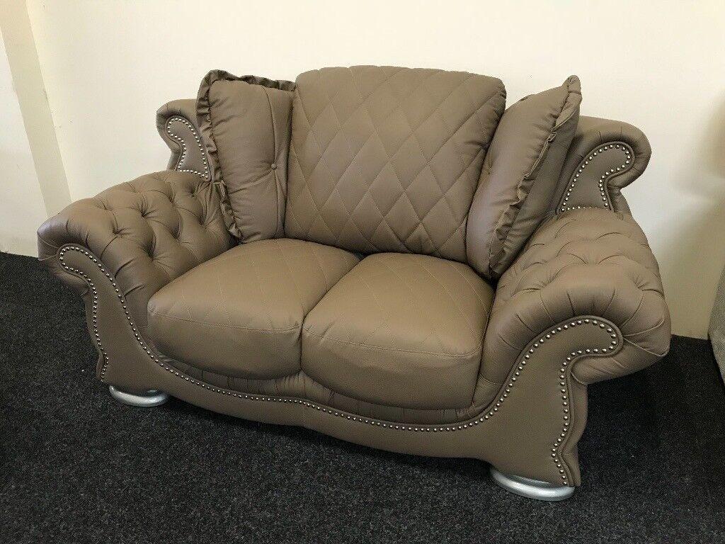 Italian Leather Sofa Furniture Designs Versace Gucci Pendragon Chanel
