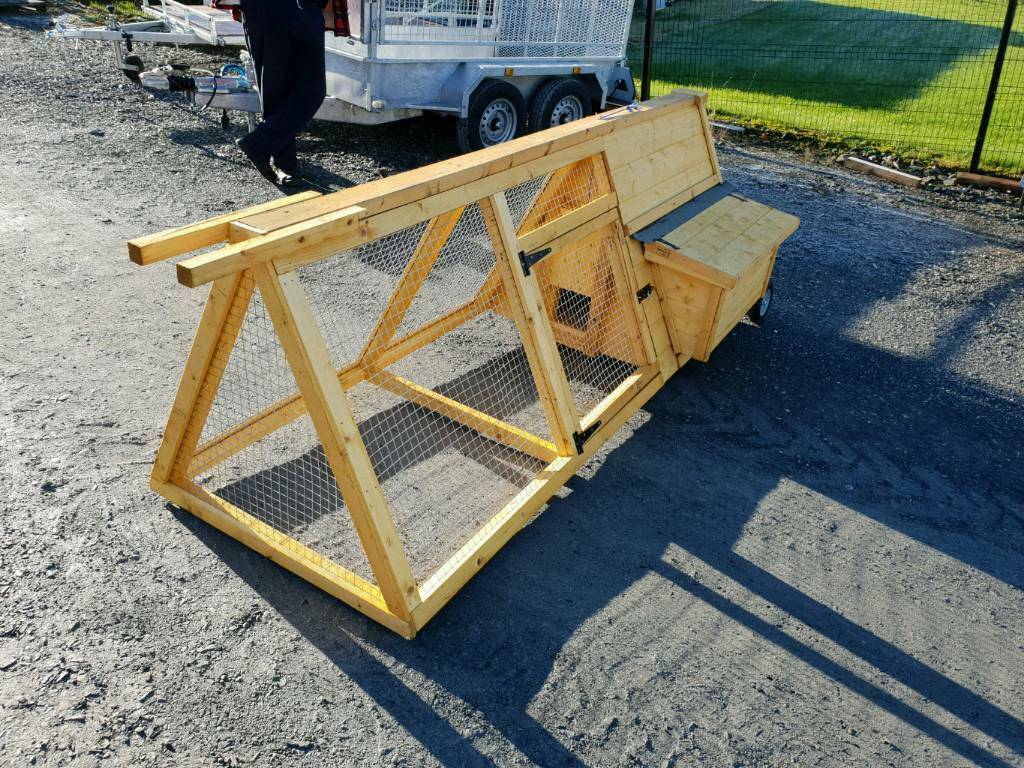 Hen Chicken Ark Pen House Cage On Wheels In County Armagh Gumtree
