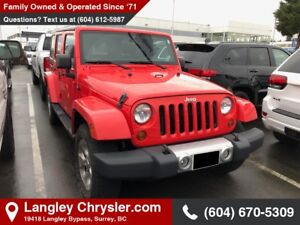 2013 Jeep Wrangler Unlimited Sahara *KEYLESS ENTRY* * POWER O...