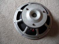 Sub Bass Speaker Peavey Black Widow 15 inch loudspeaker PA
