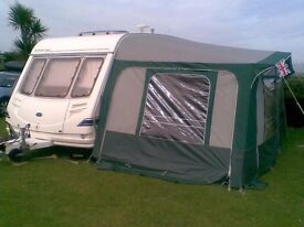 Stirling Europa 520 caravan 4 berth