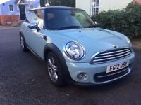 MINIHatch1.6 Cooper London 12 3dr - Limited Edition Ice Blue