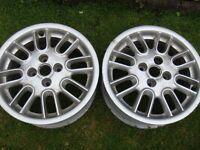 Rover 25 (x2) Alloys 15 inch £15 each.