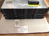 G6 HP Servers 2x working 1Faulty