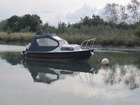Boat on Trailer -Mayland Fisherman16, 5.04 metres long, Built 2002, Yamaha 4 stroke 2003