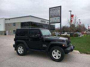 2014 Jeep Wrangler Sport ~4X4 ~ONE OWNER ~Heated Seats