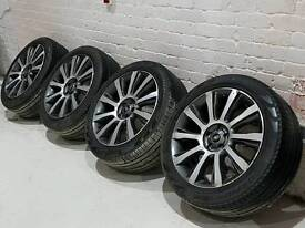 """Set of 21"""" Genuine Range Rover SV alloy wheels with tyres Vogue Sport"""