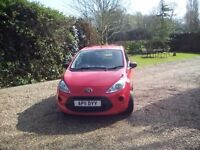 FORD KA STUDIO 2011 LOW MILEAGE RED ONE OWNER BARGAIN