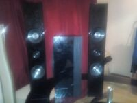 Samsung subwoofer PS-CWO and two Speakers PS -fc453