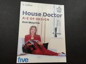 House Doctor, A-Z of Design BOOK by Ann Maurice