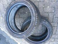 2 x 225/45/17 Michelin tyres