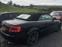 A4 s line convertible automatic. Needs an engine reflected in price