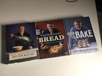 Paul Hollywood's Baking Books (hardback) x3