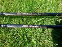 2 X Shakespeare interline boat rods