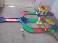 Happyland car wash set as seen in pic, view, collect or delivery Stonehaven