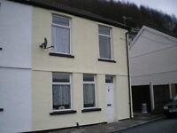 2 Bedroom house, Blaenllechau, Ferndale, Rhondda
