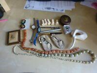 Car boot job lot Collectible old antique various mixed curios lot