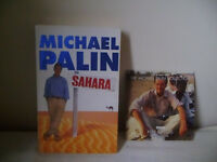 MICHAEL PALIN 'SAHARA' BOOK & POLE TO POLE 'SHIFTING SANDS' DVD
